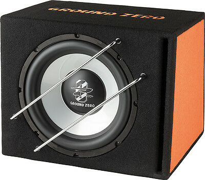 Ground Zero Subwoofer in cassa reflex GZIB 300BR  box sub auto