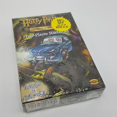 Harry Potter Trading Card Game Starter Pack two player New Sealed Package 2002