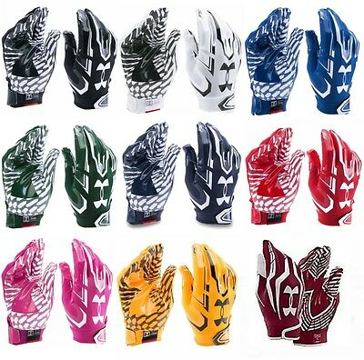 Under Armour UA F5 Adult Mens Football Gloves Receiver Gloves Skill 1271183