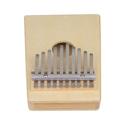 10 Key Finger Thumb Music Pocket Piano Kalimba Mbira Toy Musical Instrument