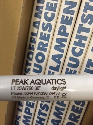 "Daylight Aquarium Light tubes - 25W 30"" T8 Buy one get one free"