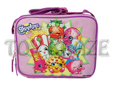 Shopkins Lunch Box! Pink Party Group Girls Insulated School Bag Tote Nwt