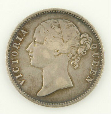 1840 Victoria India Rupee Silver High Grade Coin Xf Indian Foreign Coin