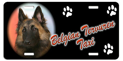 Belgian Tervuren  Taxi Line License Plate (( SPECIAL LOW CLEARANCE PRICE ))