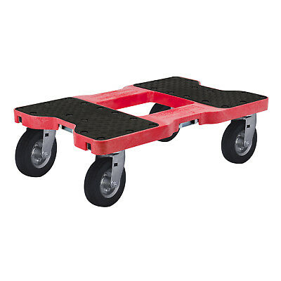 1500 Lb Air-Ride Professional E-Track Dolly Red
