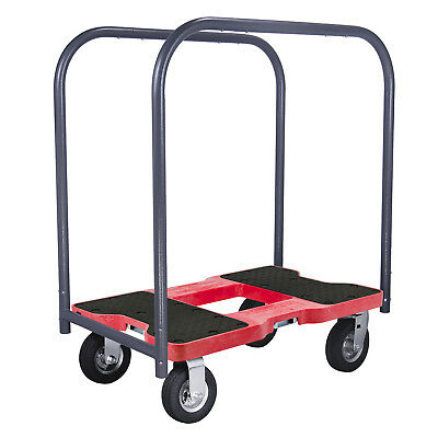 Snap-Loc Air-Ride Panel Cart Dolly Red