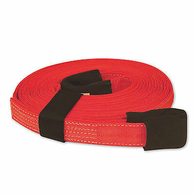 "TOW & LIFTING STRAP 2""x30' 20,000 lb RED"