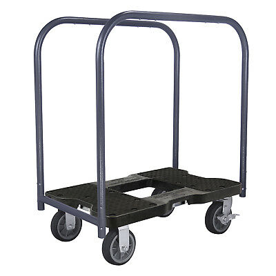 Snap-Loc 1500 Lb All-Terrain Professional E-Track Panel Cart Dolly Black