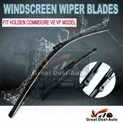 Fit Holden VE Commodore Windscreen Wiper Blades Frameless  Berlina Calais 06-13