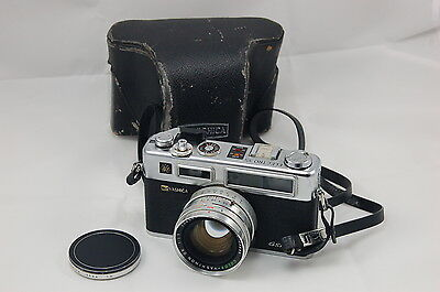 Yashica Electro 35 GSN Rangefinder BEAUTY w/case, strap, 1a filter, cap