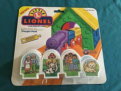 Little Lionel Eight Piece People Pack MOC