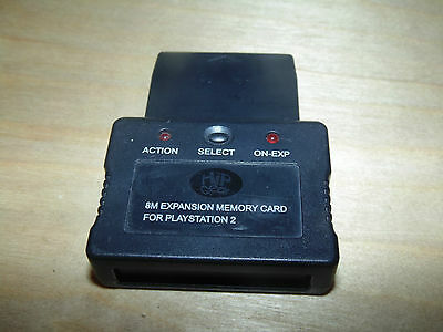 Playstation PS2 3rd Party Memory Card Expander Hip Gear