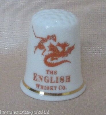 Highly Collectable Thimble-Cottage Thimbles Penzance England - English Whisky Co