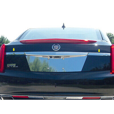 2pc. Luxury FX Chrome License Bar Extension for 2013-2017 Cadillac XTS