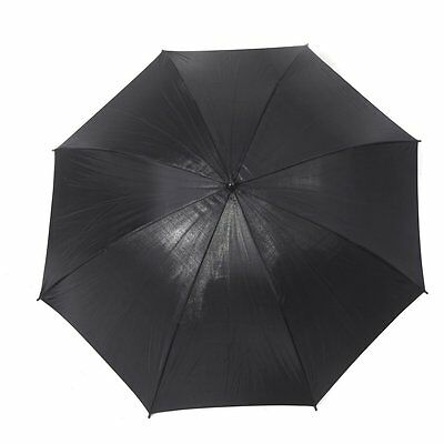 83cm 33in Studio Photo Strobe Flash Light Reflector Black Umbrella