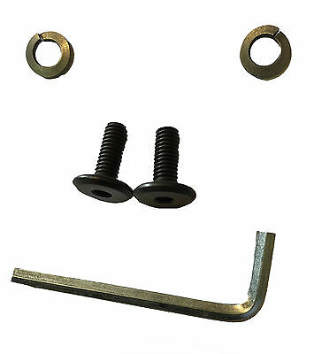 NEW Genuine Thorowgood Saddle Replacement Gullet Screws, Washers & Allen Hex Key