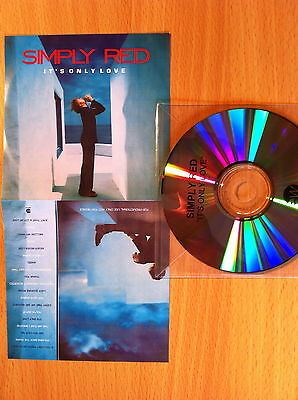 SIMPLY RED ~'It's Only Love'~Rare UK 'PROMO ONLY' 19 Track CD 2000~NEW