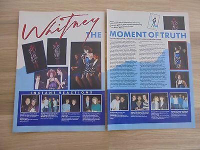 Whitney Houston_Stars On 45 Pints_MAGAZINE CLIPPINGS_ships from AUS!__2a