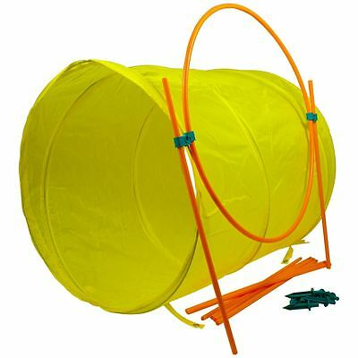 Outward Hound Outdoor Dog Agility Kit - Tunnel Hoop & Slalem