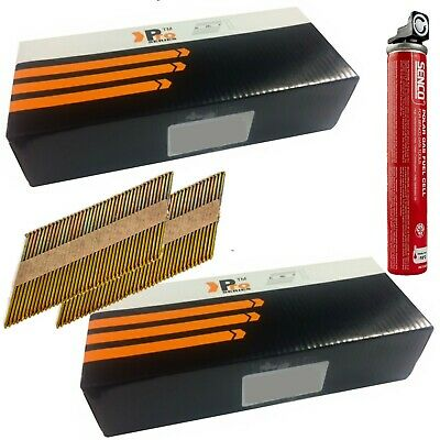 1k nails &1 Fuel Cell,Paslode/ Hitachi Nailers-Framing Nails,Clipped D-Head