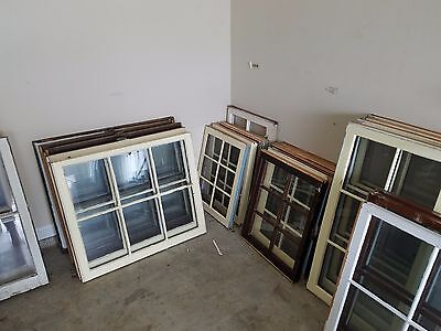 Wooden windows for decorative projects