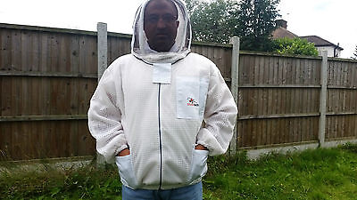Ventilated Beekeeping Jacket Beekeeper Jacket fencing veil bee Jacket ALL SIZES