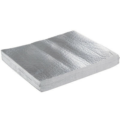 "Choice 10 3/4"" x 14"" Insulated Foil Sandwich Wrap Sheets - 500/Pack"
