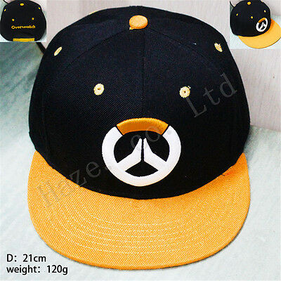 Blizzard Overwatch OW Logo Embroidered Unisex Baseball Hat Cap