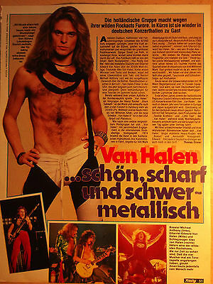 1 german clipping BAD COMPANY NOT SHIRTLESS ROCK BOY BAND BOYS GROUP BRAVO 70`s
