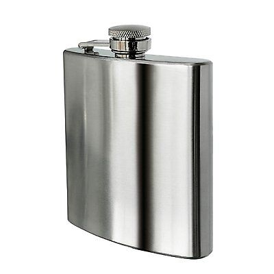 8 oz Stainless Steel Hip Flask DT