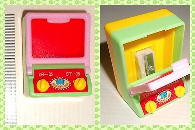 MICROWAVE OVEN 80s Maricart italy sharpener - temperino fornetto kawaii mint