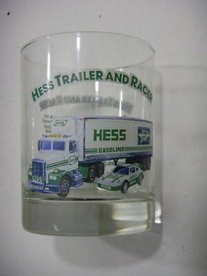 Hess 1996 Classic Truck Series Glass 1992 Hess Trailer And Racer Exclusive