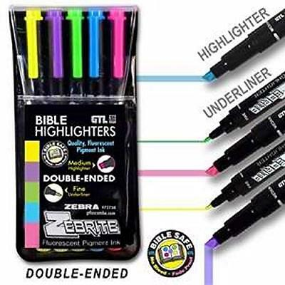 Highlighter-Zebrite Carded, New, Free Shipping