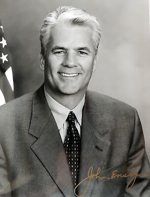 John Ensign - Former Senator (R) for Nevada  - Personally Autographed Photo