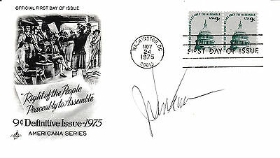 John Dean - Watergate Conspirator - Personally Autographed First Day Cover