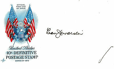 Leon Jaworski - Watergate - Personally Autographed First Day Cover