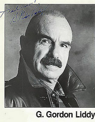 G. Gordon Liddy - Watergate - Personally Autographed Photograph