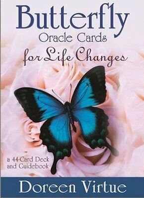 Butterfly Oracle for Life Changes Cards by Doreen Virtue NEW/SEALED FREE UK P&P