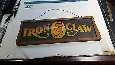 coin op iron claw marque sign
