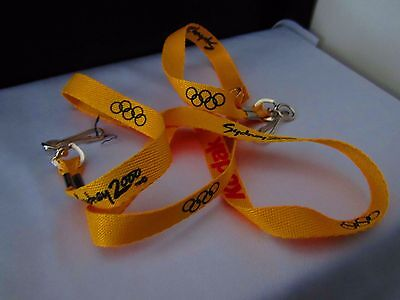 Kodak Collectable Lanyard Makers of Camera's Film, Sydney 2000 Olympic Games New