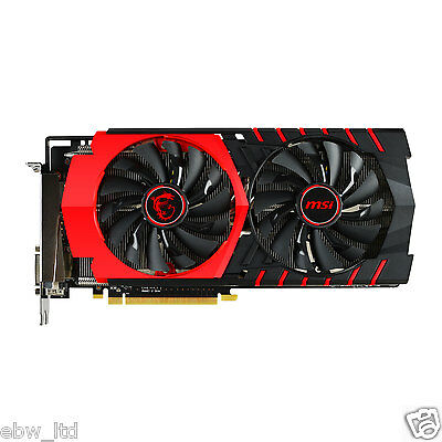 MSI Radeon R9 390 GAMING AMD Graphics Card 8GB Twin Frozr V FAN DX12  1060MHz