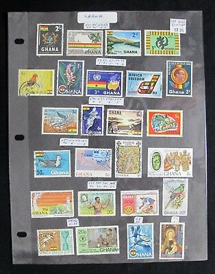 BEAUTIFUL 90 Stamps Ghana Topical Collection SEE PICTURES whotoldya Lot 62917
