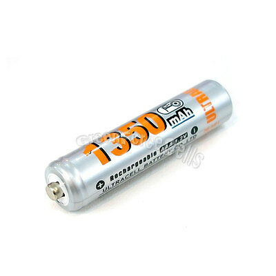 6 pièces AAA 1350mAh 1.2V Ni-MH Recharge Pile Rechargeable/RC Ultracell