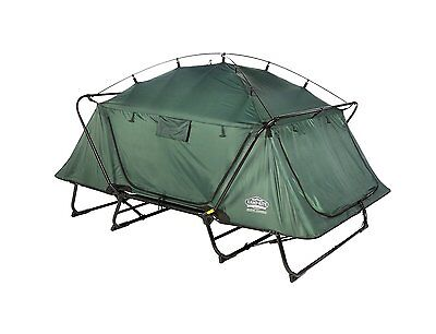 Double Tent Cot Elevated Mesh Doors Heavy Duty Outdoor Camping Hiking Mountains