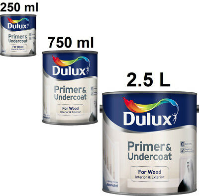 Dulux Primer and Undercoat for Wood Interior and Exterior