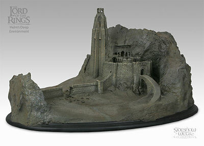 Sideshow Weta HELM'S DEEP Environment Lord of the Rings LotR Hobbit Two Towers