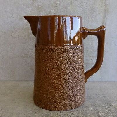 R Fowler Ltd Marrickville Pottery Coffee Pot  NO LID 1.35Ltrs Langley Ware Aust