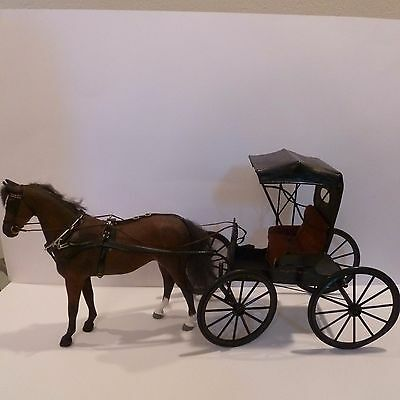 Miniature Horse And Carriage By Cheryl Abelson ( Abelson Carriage Works 1984 )
