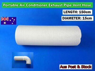 Portable Air Conditioner Spare Parts Exhaust Pipe Vent Hose Only (150cmx15cm)