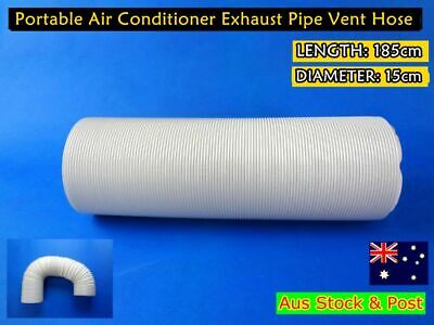 Portable Air conditioner Spare parts Exhaust pipe vent hose only (180cmx15cm)